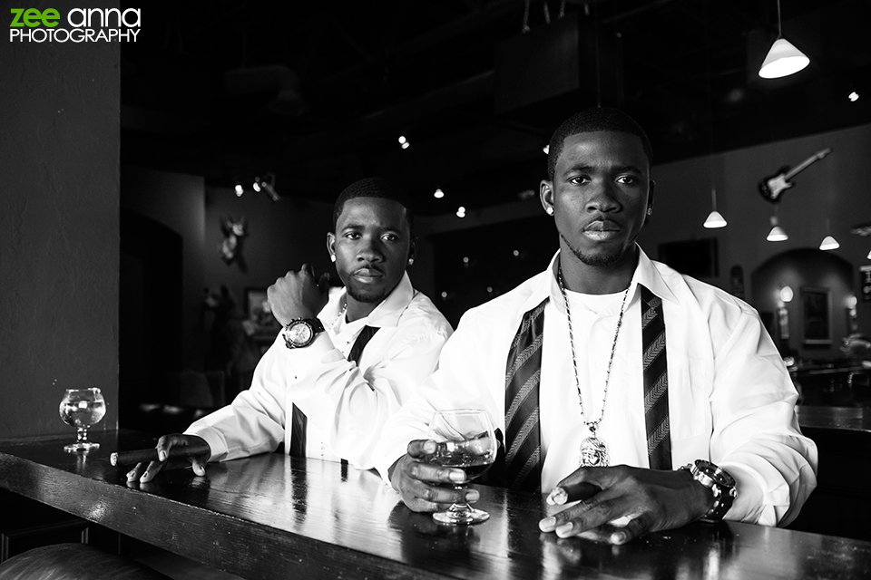 Split Image R&B Promo shoot at World Famous Cigar Bar Fort Myers