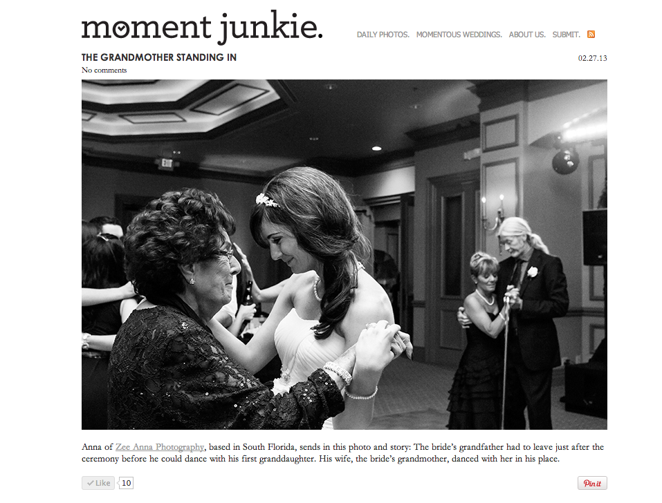 Moment Junkie feature from Sam and Matt's wedding at the Strand in Naples Florida