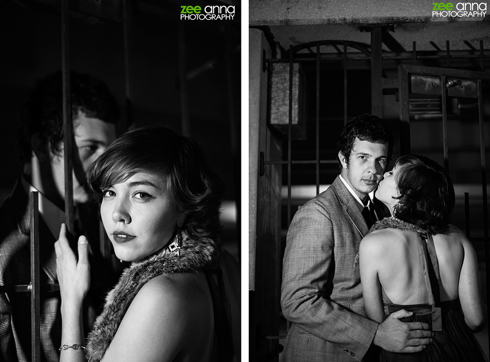 Film-Noir-Downtown-Fort-Myers-Couple-Photo-Shoot