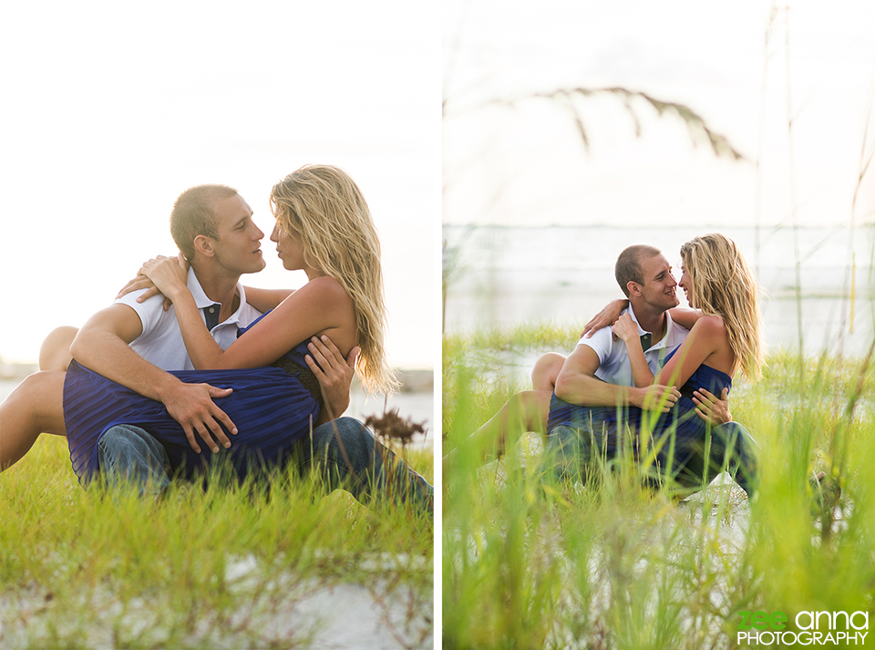 Dutch and Stephanie have their senior and couple session at Bowditch Beach in Fort Myers Beach