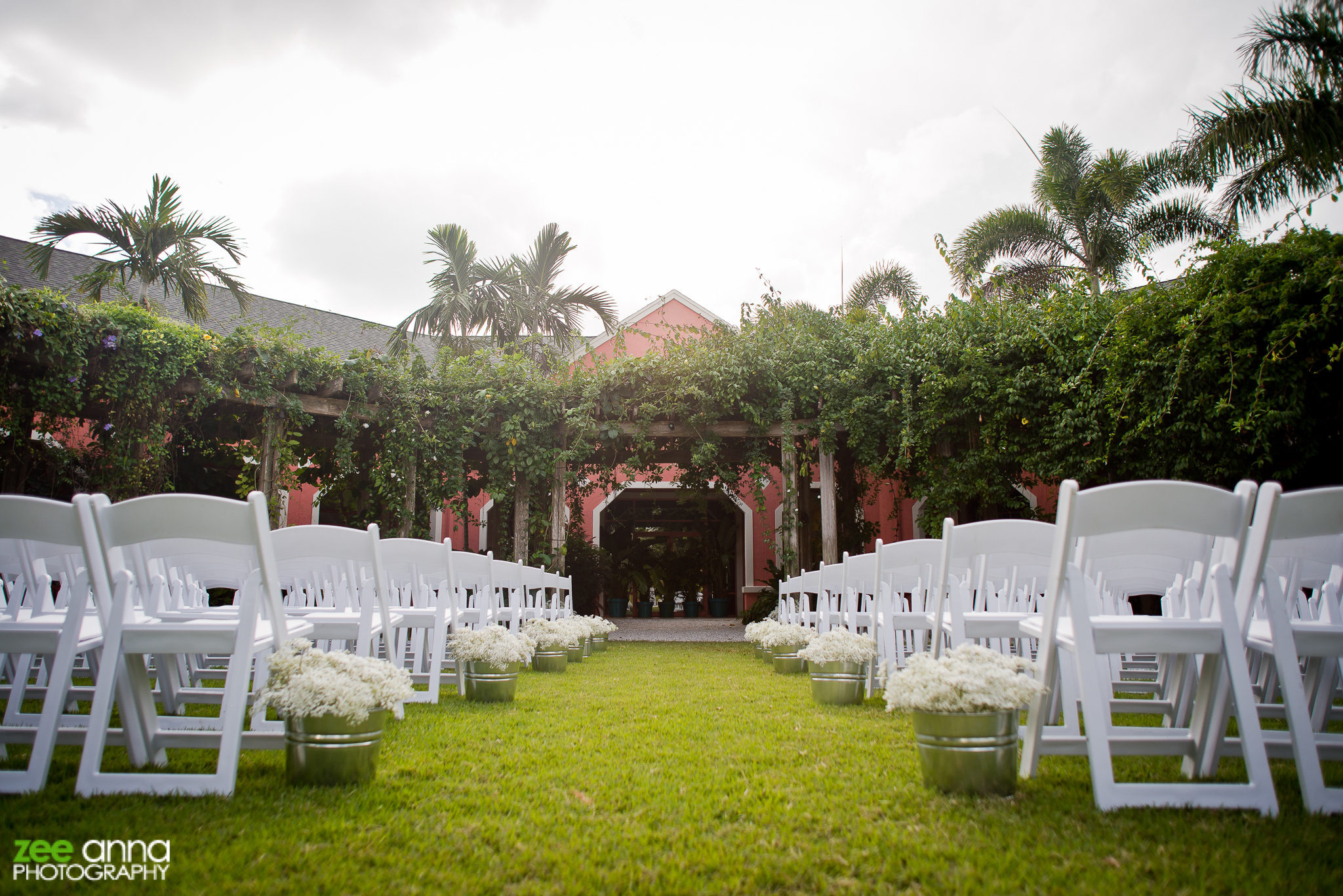 Naples Botanical Gardens Wedding Melissa Sean Zee Anna