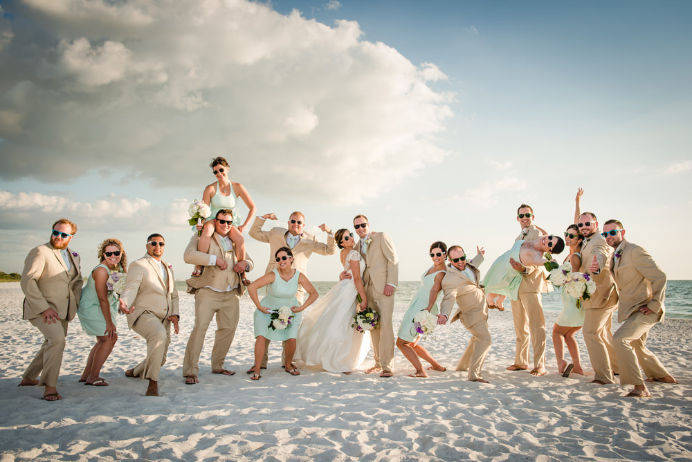 Lover's Key Fort Myers Beach Wedding by Zee Anna Photography