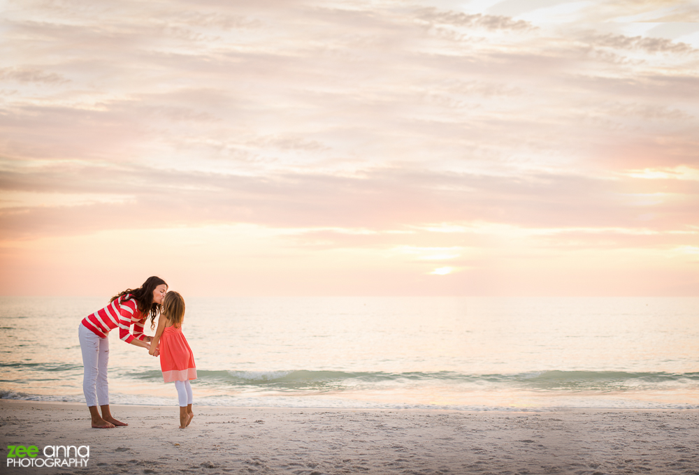 Mommy and Me family Portraits in Naples FL by Zee Anna Photography