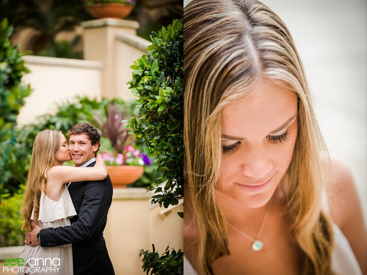 Naples Ritz Carlton Engagement shoot by Zee Anna Photography