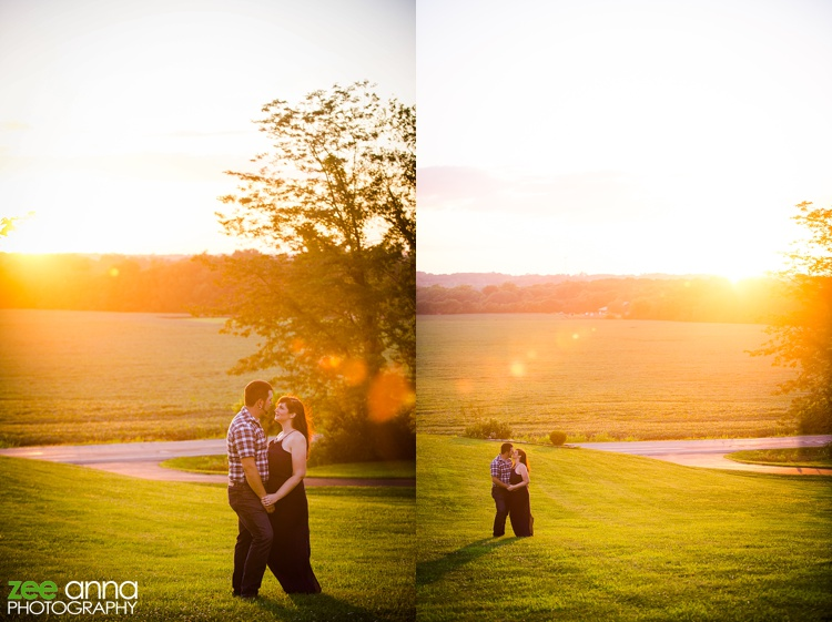 Ohio engagement photography by zee anna photography