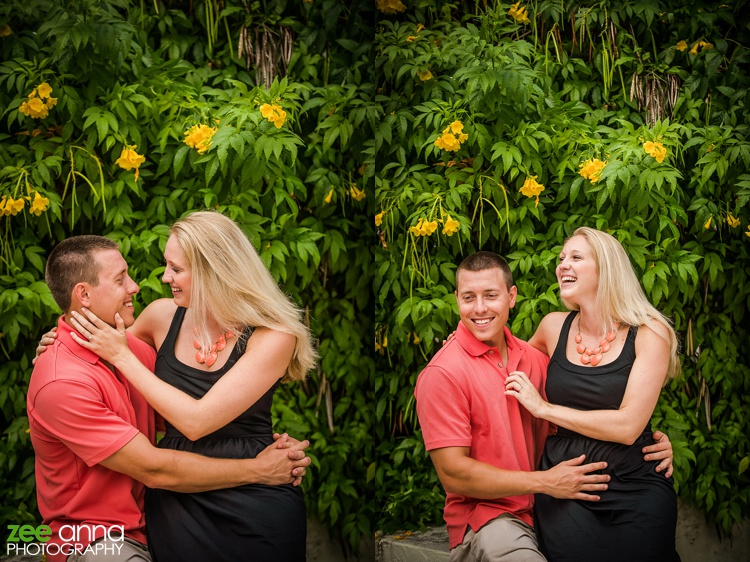 Downtown Naples Engagement Session by Zee Anna Photography