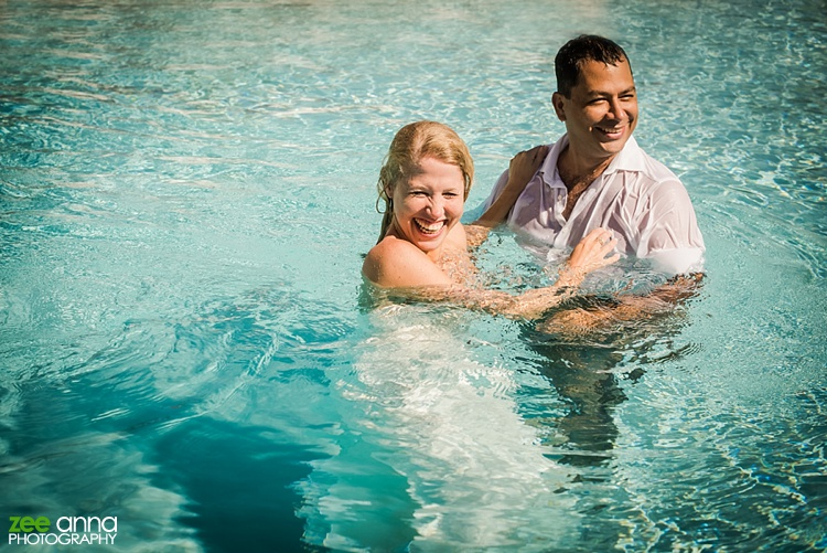 Underwater Anniversary shoot and beach shoot by Zee Anna Photography