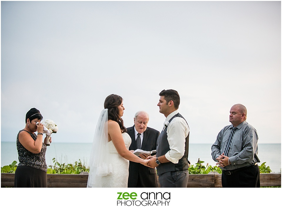 Naples Beach Wedding Photography by Zee Anna Photography on the beaches of Naples Florida