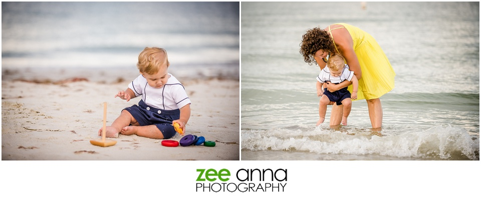 Bowditch Point Park Fort Myers Beach Family Session by Zee Anna Photography