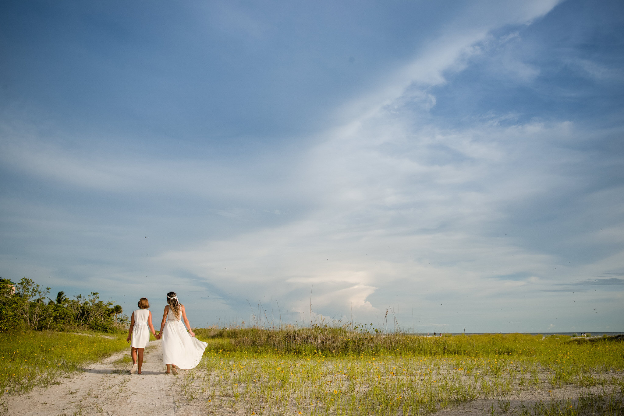 Lovers Key State Park Family Session by Zee Anna Photography