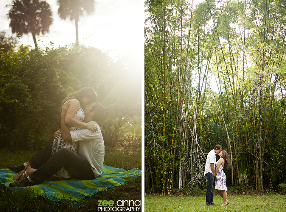 shane and darlene engagement shoot at koreshan state park