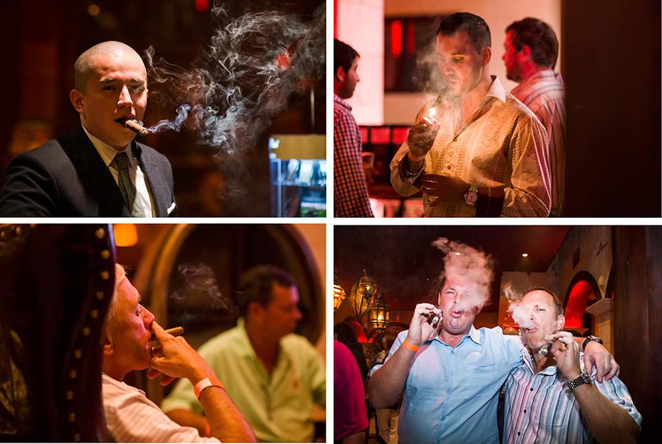 Padron Event at Burn by Rocky Patel