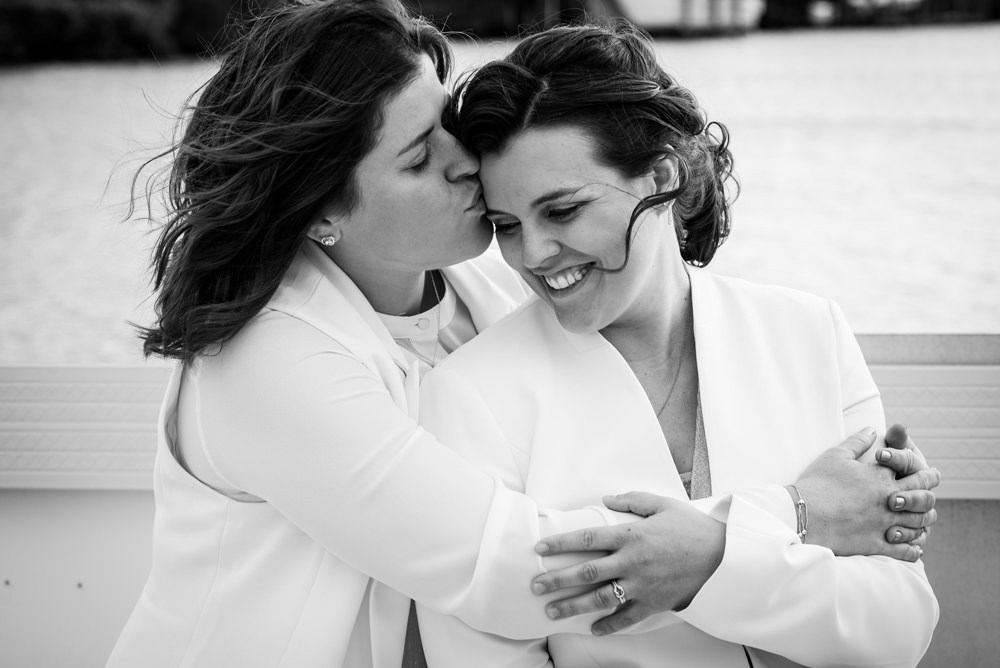Bonita Boat Club Wedding LGBTQ by Zee Anna Photography