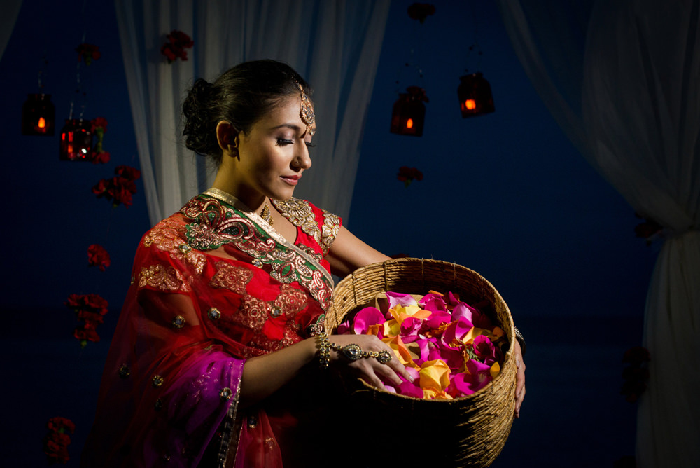 Lover's Key Indian Wedding Fort Myers Beach Wedding by Zee Anna Photography