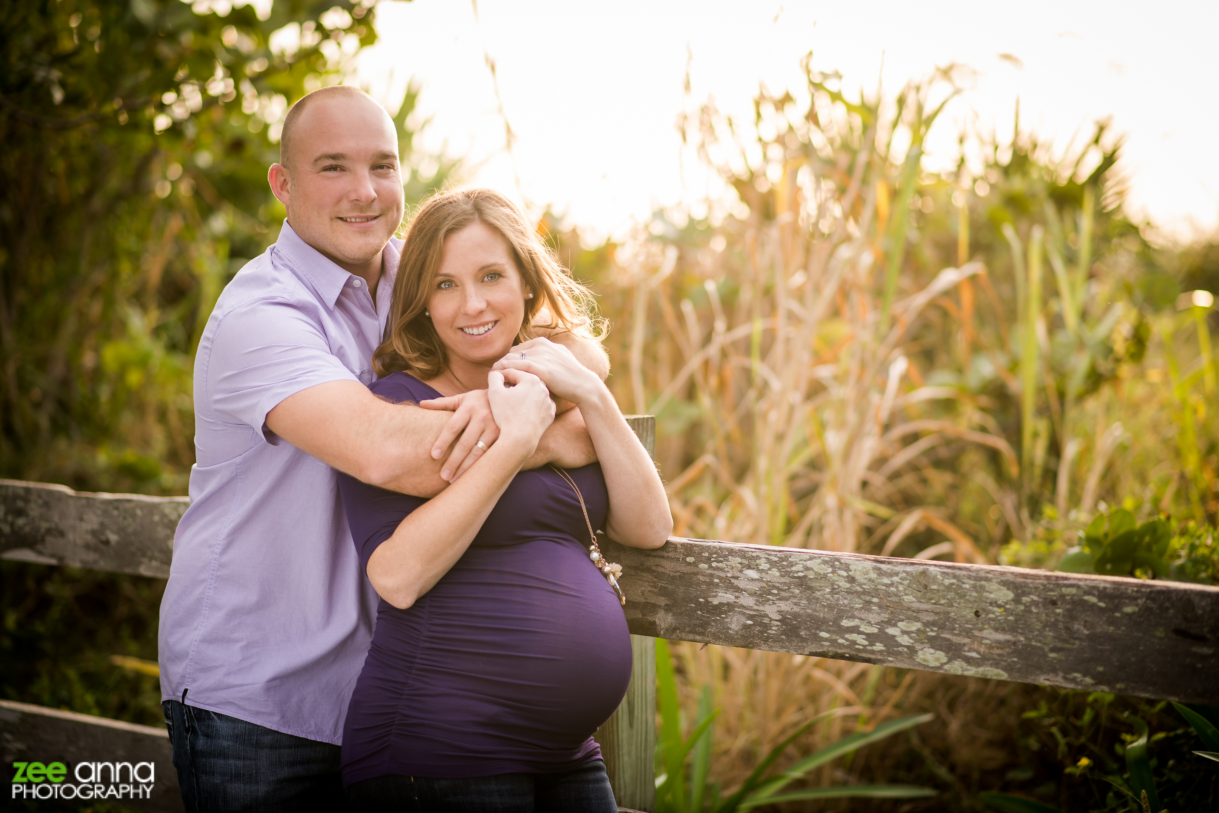 Fort Myers Beach Maternity Shoot - Zee Anna Photography