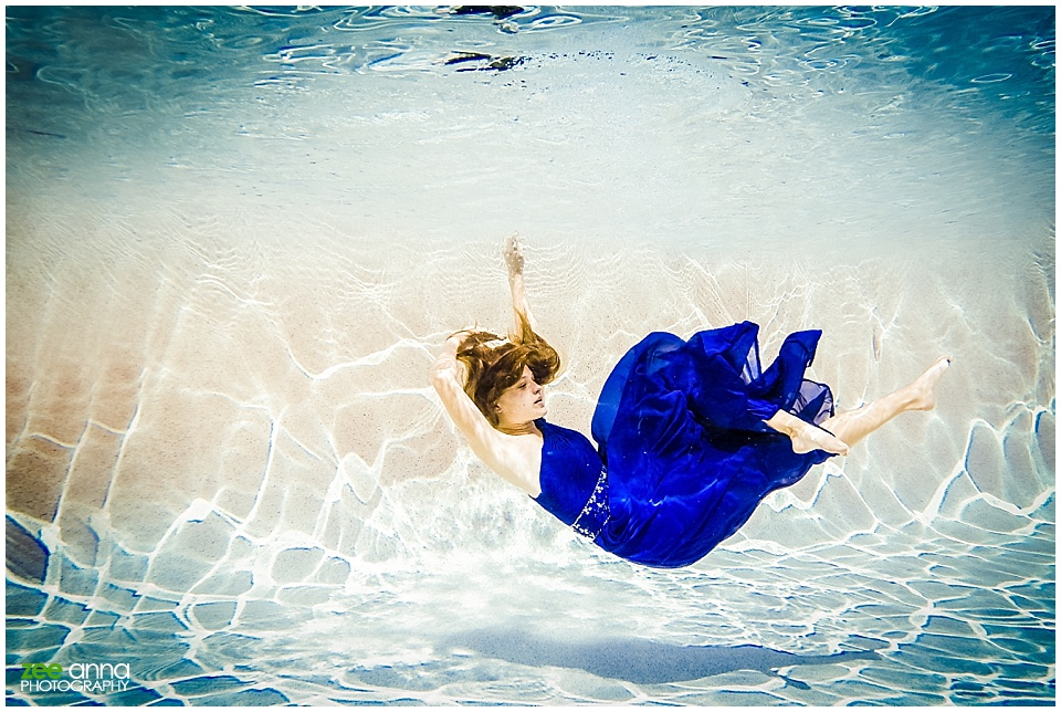 Naples Florida Underwater Photography Portraits by Zee Anna Photography