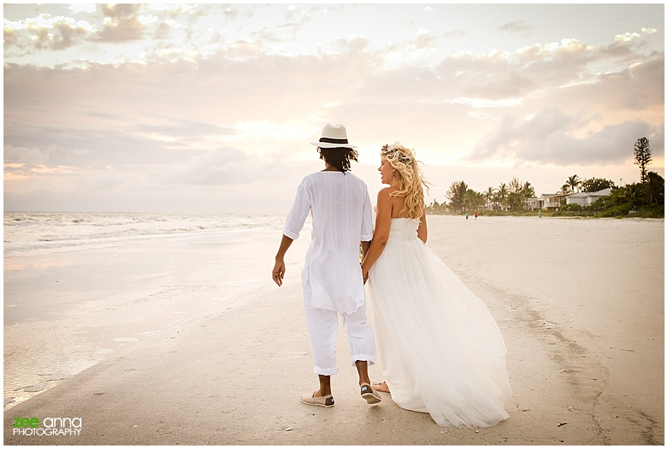 Fort Myers Beach Wedding Teaser Janemo Janeen Zee Anna