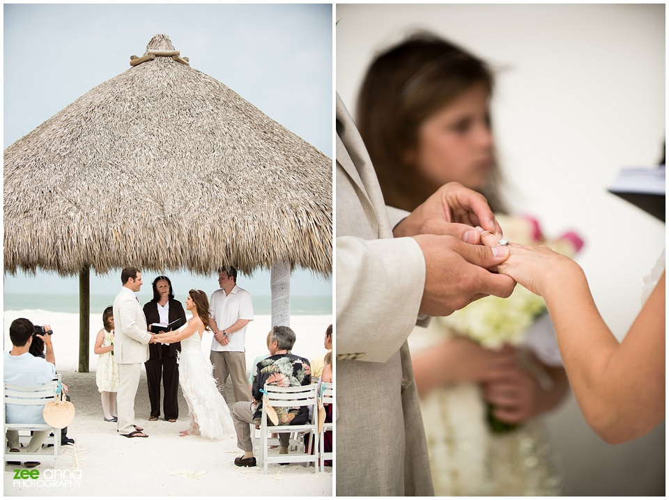 Marco Marriott Beach Resort Wedding