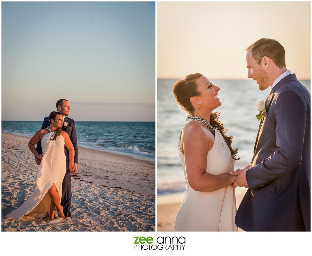 Naples Wedding at La Playa Beach Resort by Party Rox with Photography by Zee Anna Photography