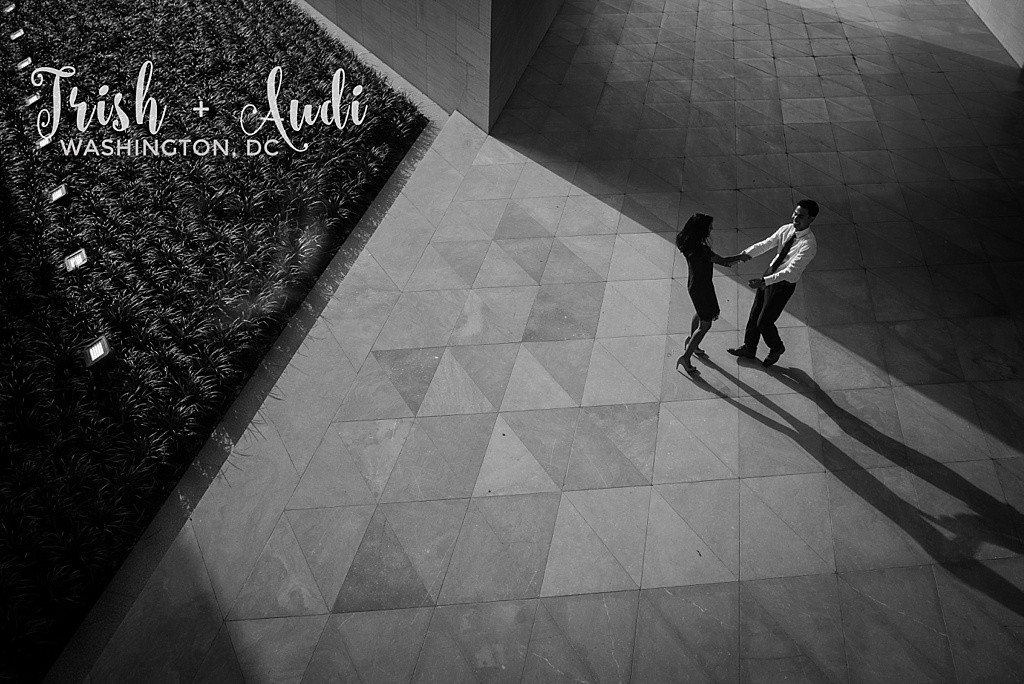 National Gallery of Art engagement session by Zee Anna Photography
