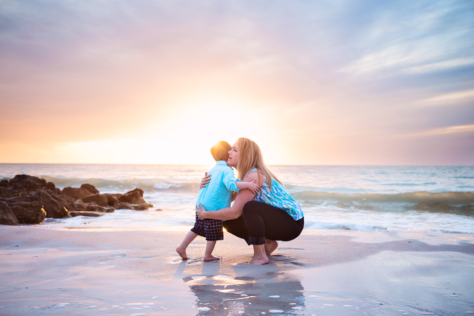 Naples Family Session by Zee Anna Photography