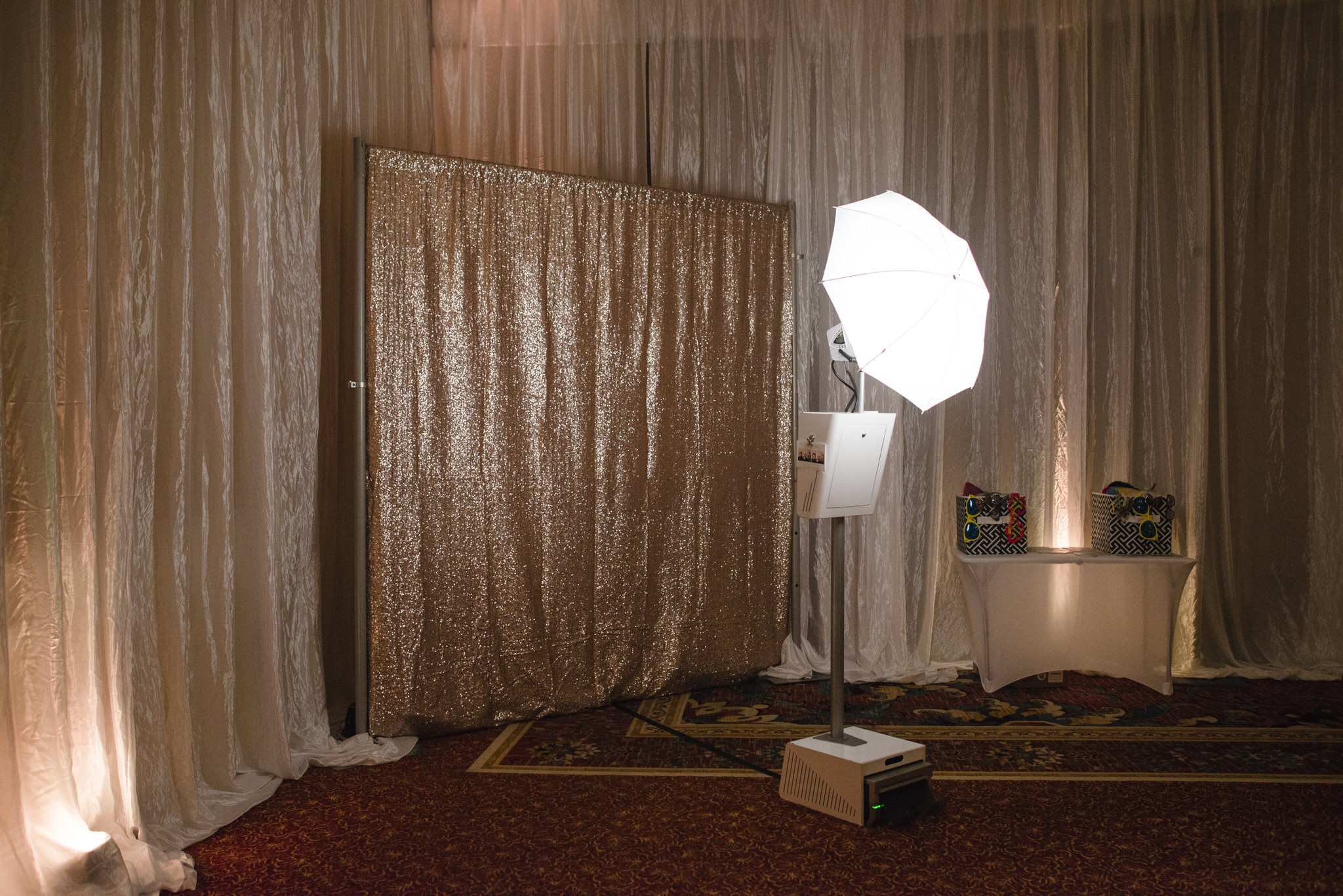 Boothy photo booth at the Ritz Carlton Naples Beach Resort