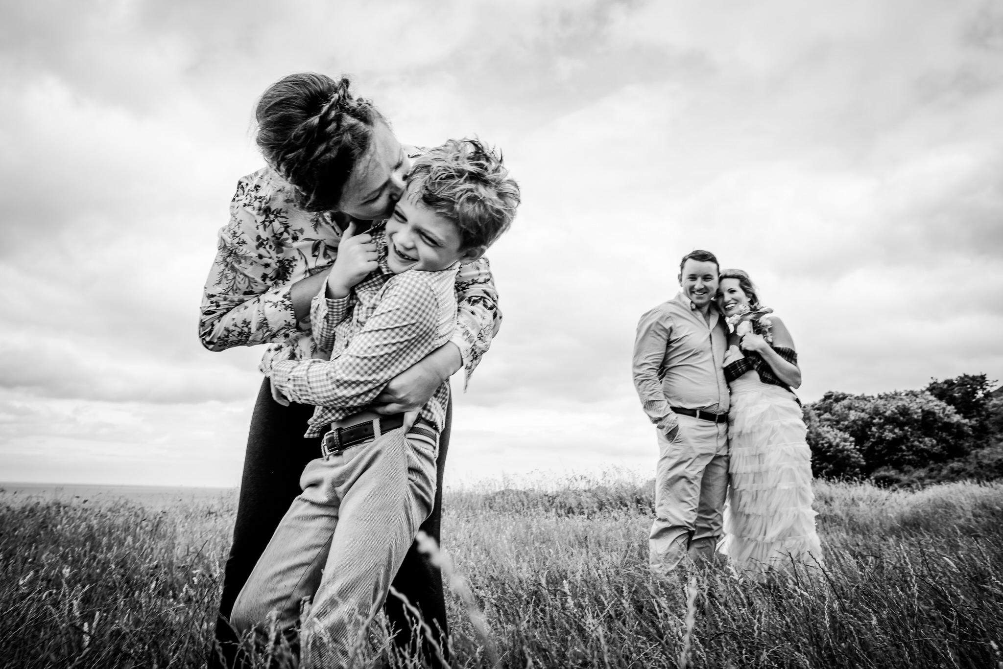 Handfasting in Bray, Ireland - International Destination Wedding by Zee Anna Photography