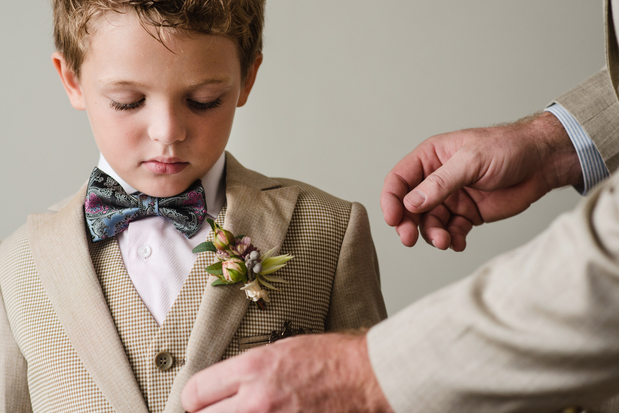 Ringbearer in Bray, Ireland - International Destination Wedding by Zee Anna Photography