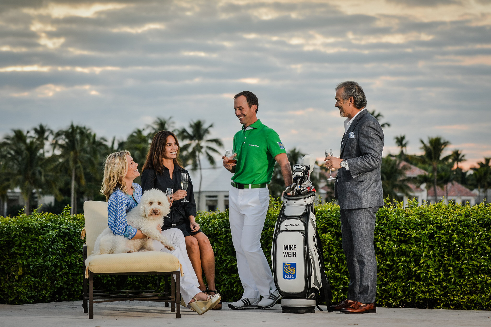 PGA Golfer Mike Weir for Elevee