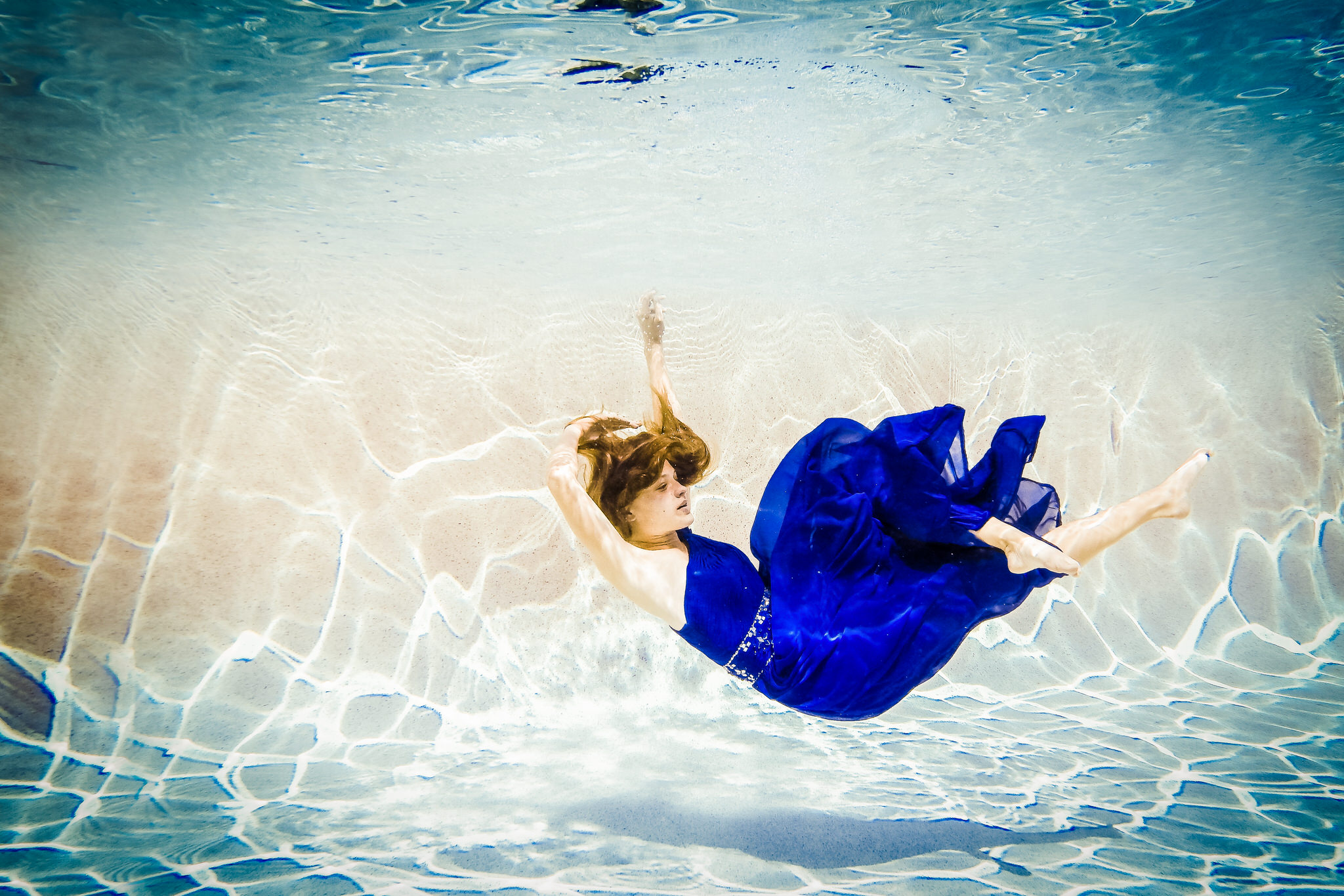 Naples Florida Underwater Photography Fashion Shoot by Zee Anna P