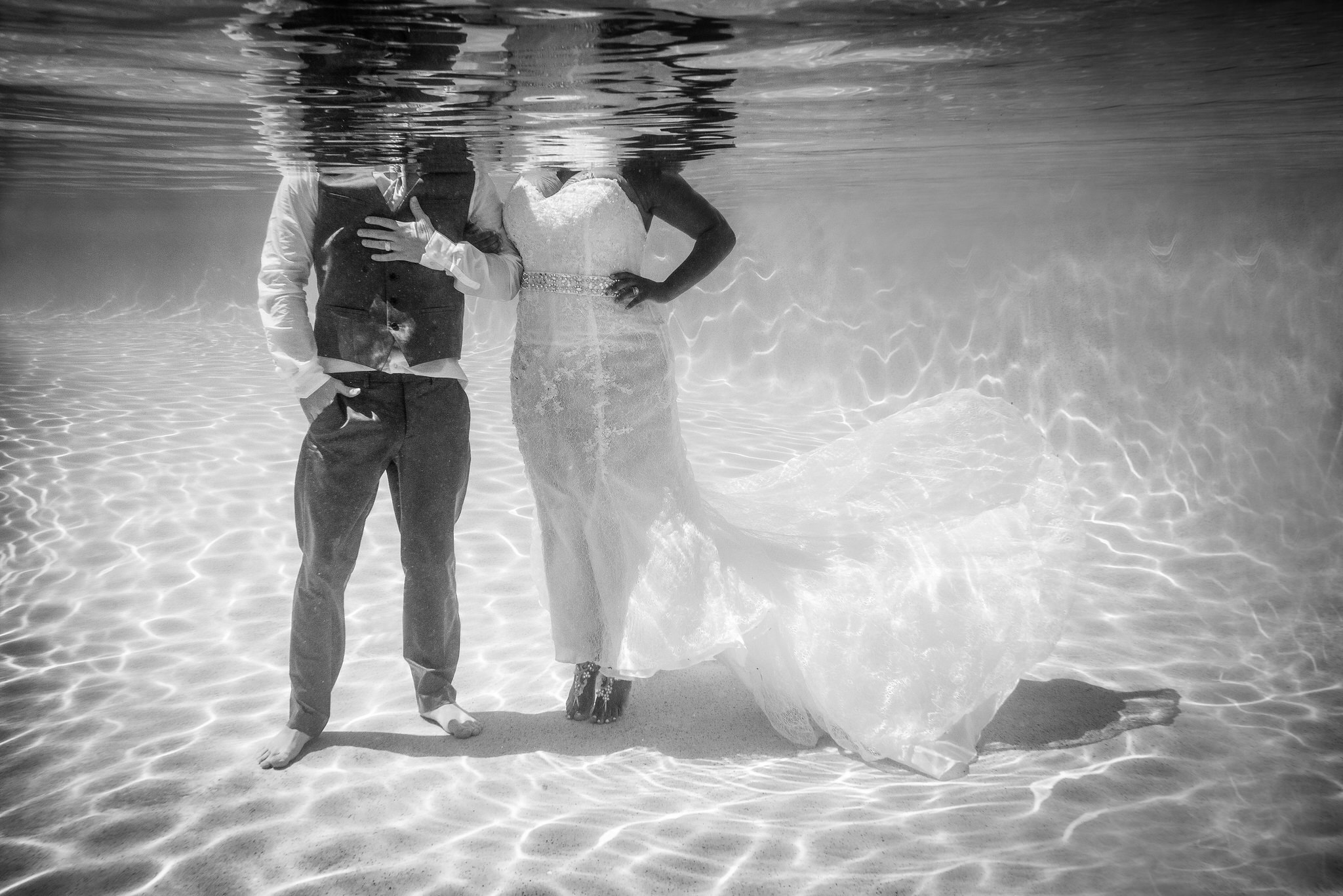 Underwater Photography Wedding Shoot by Zee Anna Photography