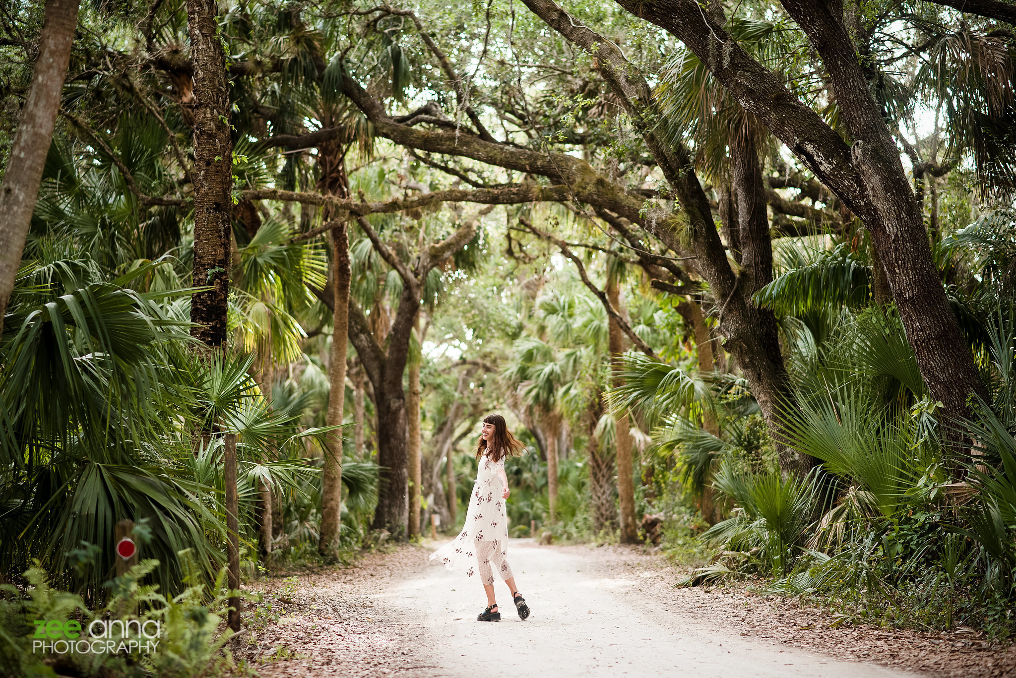 Senior Session at Koreshan State Park in Estero, Florida
